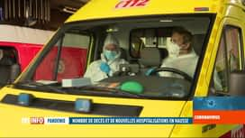 RTL INFO 13H : Coronavirus en Belgique: témoignages de pompiers-ambulanciers...