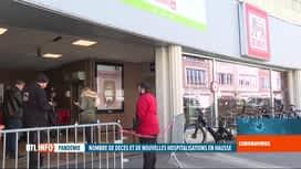 RTL INFO 13H : Coronavirus en Belgique: personnel à l'arrêt dans 4 magasins Delhaize
