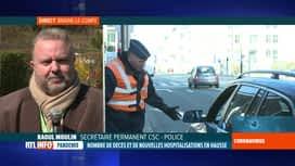 RTL INFO 13H : Coronavirus en Belgique: la police a lancé un préavis de grève