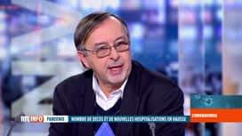 RTL INFO 19H : Coronavirus en Belgique: le message d'Yves Van Laethem, infectiologue
