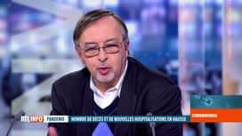 RTL INFO 19H : Coronavirus en Belgique: Yves Van Laethem analyse les chiffres du jour