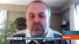 RTL INFO 19H : Coronavirus en Belgique: 436 patients guéris ont quitté l'hôpital hier