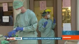 RTL INFO 19H : Coronavirus en Belgique: le pic de l'épidémie attendu la semaine pr...