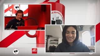 Camelia Jordana dans Le Double Expresso RTL2 (03/04/20)