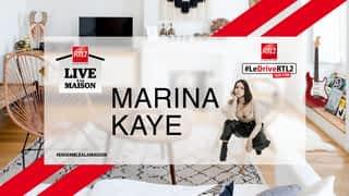 Marina Kaye live dans #LeDriveRTL2 (02/04/20)