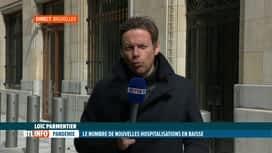 RTL INFO 13H : Coronavirus en Belgique: le nombre d'hospitalisation diminue