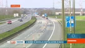 RTL INFO 13H : Coronavirus en Belgique: les chantiers sur les autoroutes reprennent