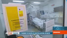 RTL INFO 13H : Coronavirus en Belgique: 1205 personnes sont aux soins intensifs