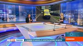 RTL INFO 13H : Coronavirus en Belgique: l'avis d'Yves Van Laethem, infectiologue