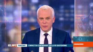 RTL INFO 19H : RTL INFO 19 heures (03/04/20)