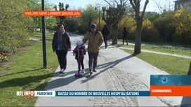 RTL INFO 13H : Coronavirus en Belgique: début de vacances de Pâques particulières