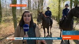 RTL INFO 13H : Coronavirus en Belgique: la police veille au respect du confinement