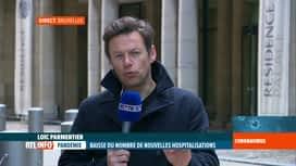 RTL INFO 13H : Coronavirus en Belgique: analyse du bilan du jour au centre de crise