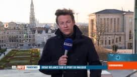 RTL INFO 19H : Coronavirus en Belgique: le port du masque n'est pas encore préconisé