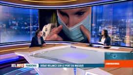 RTL INFO 19H : Coronavirus en Belgique: l'avis d'Yves Van Laethem, infectiologue