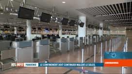 RTL INFO 19H : Coronavirus en Belgique: début de vacances de Pâques particulières