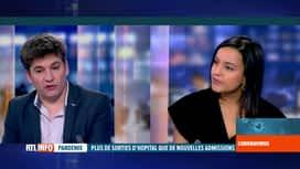 RTL INFO 19H : Coronavirus en Belgique: analyse des chiffres par nos experts