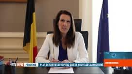RTL INFO 19H : Coronavirus en Belgique: Sophie Wilmès s'adresse aux Belges ce soir