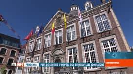 RTL INFO 19H : Coronavirus en Belgique: le Limbourg est la province la plus touchée