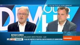 RTL INFO 19H : Coronavirus en Belgique: le port du masque au coeur du débat dominical
