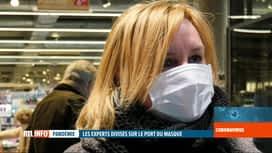 RTL INFO 19H : Coronavirus: le port du masque de protection dans le monde