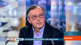 RTL INFO 19H : Coronavirus en Belgique : Yves Van Laethem analyse le dernier bilan