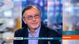 RTL INFO 19H : Coronavirus en Belgique: l'éclairage de Yves Van Laethem à propos d...