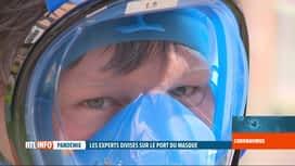 RTL INFO 19H : Coronavirus en Belgique: le masque de plongée aide aussi le personn...
