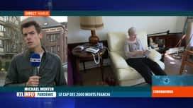 RTL INFO 19H : Coronavirus en Belgique: quid du dépistage dans les maisons de repos ?