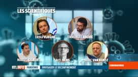 RTL INFO 19H : Coronavirus en Belgique: des experts travaillent au déconfinement