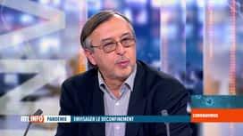 RTL INFO 19H : Coronavirus en Belgique: Yves Van Laethem évoque le déconfinement