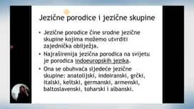 Škola za život : 09.04.: HRV - Jezične porodice i skupine, MAT - Linearne nejednadžbe, POV - Rimska Republika