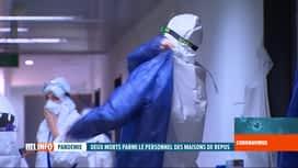 RTL INFO 19H : Coronavirus en Belgique: les maisons de repos appellent à l'aide