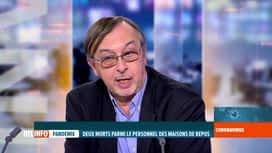 RTL INFO 19H : Coronavirus en Belgique: l'expert Yves Van Laethem analyse les chif...