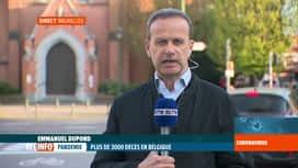 RTL INFO 19H : Coronavirus en Belgique: il ne faut pas relâcher nos efforts