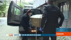 RTL INFO 19H : Coronavirus en Belgique: le cap des 3000 décès a été franchi