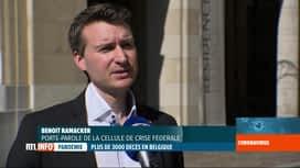 RTL INFO 19H : Coronavirus en Belgique: le centre de crise lance une campagne