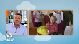 Belges à domicile vus du ciel : Céline fête son 100ème anniversaire en confinement