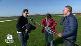 Belges à domicile vus du ciel : L'atterrissage de Christophe Deborsu
