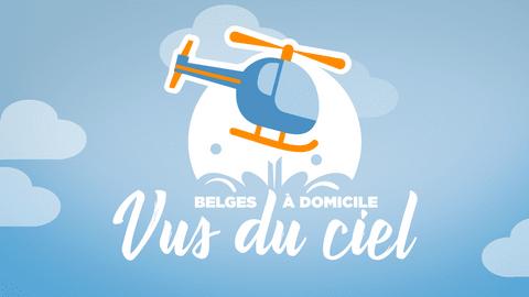 Belges à domicile vus du ciel