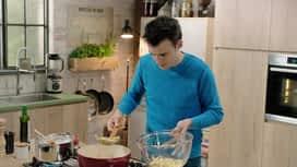 Loïc, fou de cuisine : Rouleaux de jambon aux penne et panais