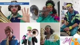 Belges à domicile : Quels talents ! : Fanfare Jukepop
