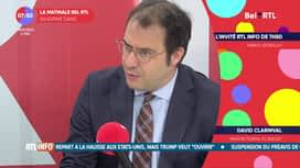 L'invité de 7h50 : David Clarinval, ministre de la fonction publique et du budget