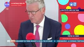 L'invité de 7h50 : Pieter De Crem, ministre de l'intérieur.