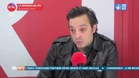 L'invité de 7h50 : Fabrice Murgia, directeur du théâtre national