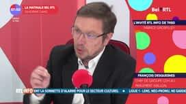 L'invité de 7h50 : François Desquesnes, chef de groupe CDH au parlement wallon