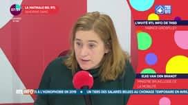 L'invité de 7h50 : Elke Van den Brandt, ministre bruxelloise de la mobilité.