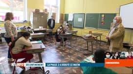 RTL INFO 19H : Coronavirus en Belgique: visite du Dr Bodson dans une école de Liège