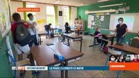 RTL INFO 19H : Coronavirus en Belgique: rentrée des élèves de 6ème primaire ce matin