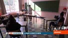 RTL INFO 19H : Coronavirus en Belgique: la journée d'une enseignante de Gosselies